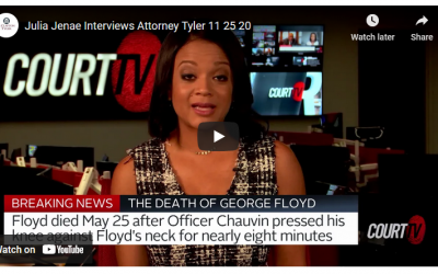 F Clayton Tyler Discusses George Floyd Case on Court TV